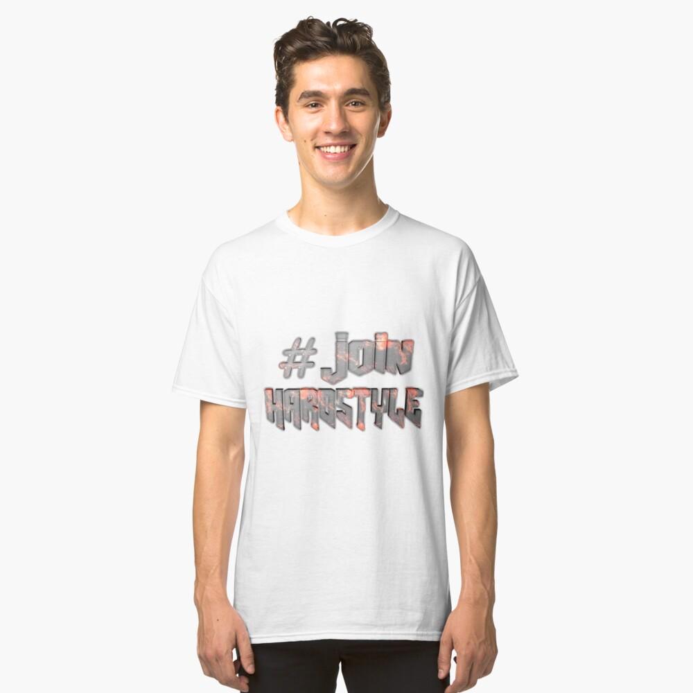 Devant T-shirt classique ''#JoinHardstyle'
