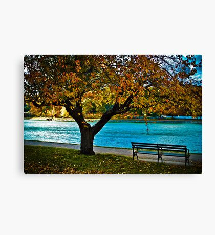 Please wait for me, running late... Canvas Print
