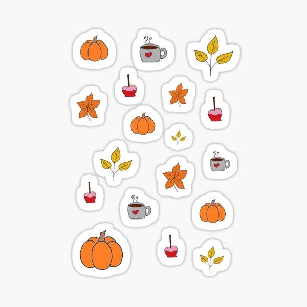 autumn stickers  Sticker