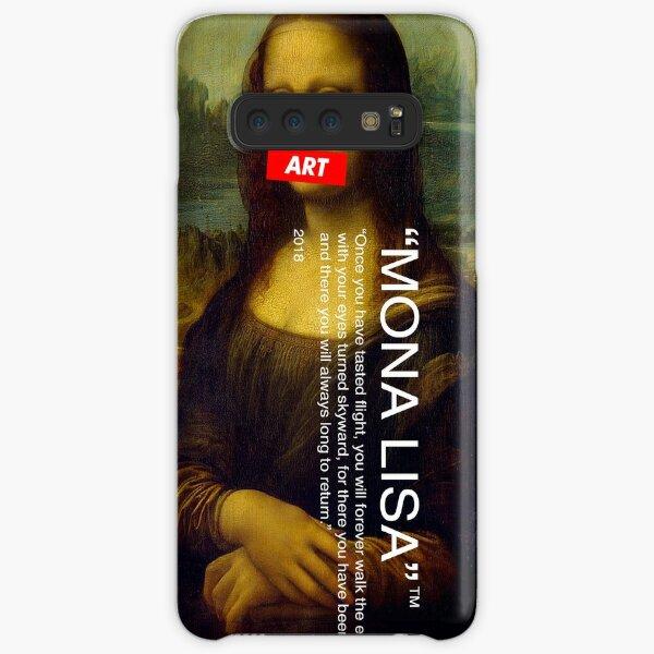 "MONA LISA ""OFF WHITE"" Samsung Galaxy Snap Case"
