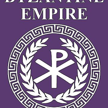 Byzantine Empire Constantinople Imperial Heraldry Symbol by WarlordApparel