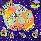 Haunted Candy Corn by Laura Barbosa