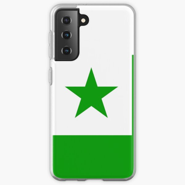 Flag of Esperanto Samsung Galaxy Soft Case