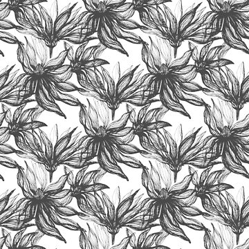 floral pattern ink by lex-sky