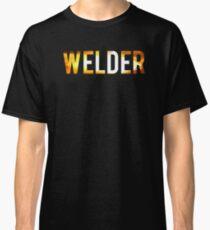 Cool Welder Sparks Graphic Welding T-shirt Classic T-Shirt