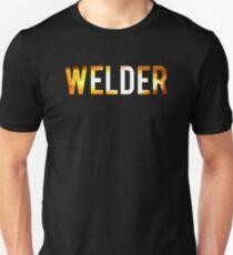 Cool Welder Sparks Graphic Welding T-shirt Unisex T-Shirt
