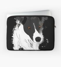 Dog funny glowing Art Laptop Sleeve