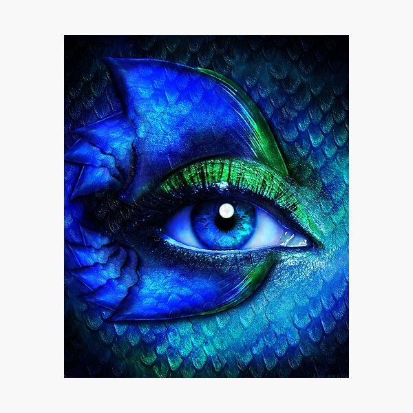 Mermaid Stare Photographic Print