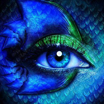 Mermaid Stare by indigocrow