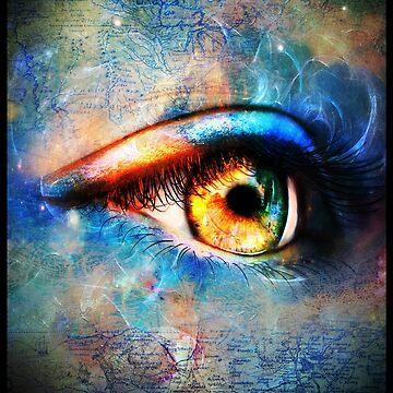 Through the Time Travelers Eye by indigocrow