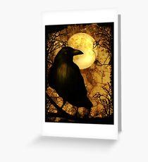 Tarjeta de felicitación El Cuervo