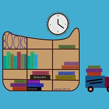 Bookshelf by amak
