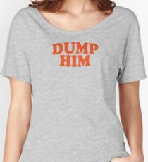 DUMP HIM - Britney Spears message tee Relaxed Fit T-Shirt