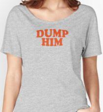 DUMP IHN - Britney Spears Mitteilungs-T-Stück Baggyfit T-Shirt