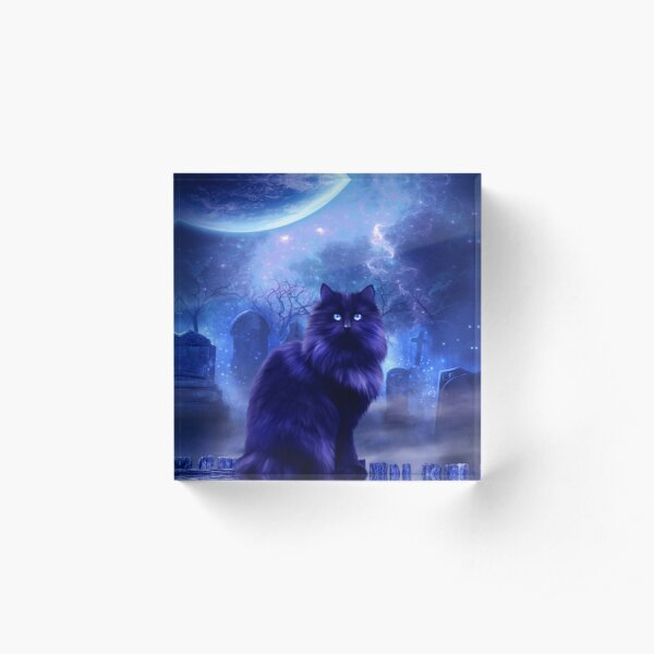 The Witches Familiar Acrylic Block