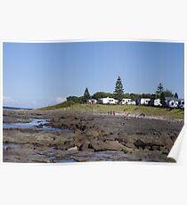 Waterscape: Shellharbour rockpool  Poster