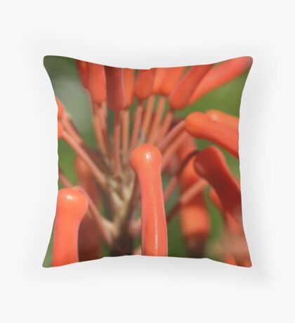 Finger nails Throw Pillow