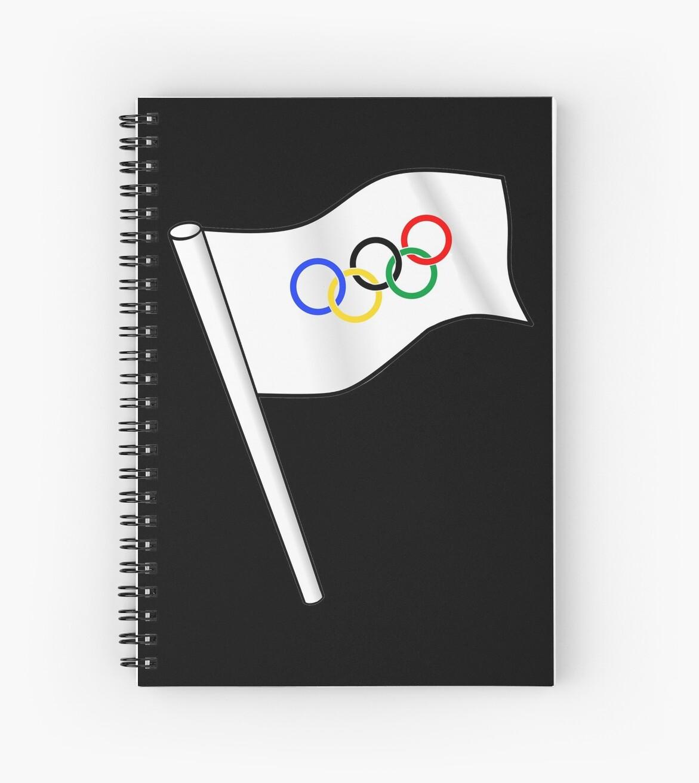 Olympia Flagge von lucata