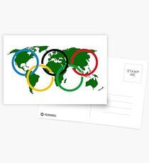 Olympia Postkarten