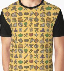 Runescape Skills Graphic T-Shirt
