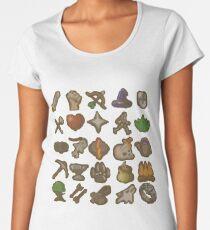 Runescape Skills Women's Premium T-Shirt