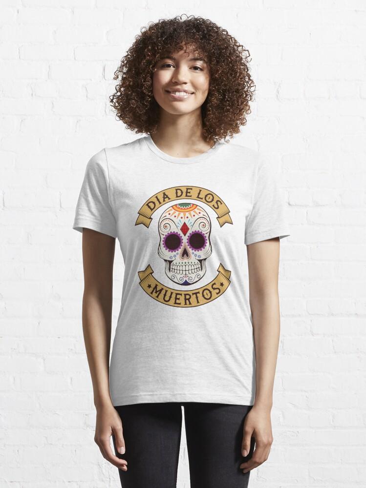 Alternative Ansicht von Dios De Los Muertos Skull Head - Day Of The Dead Gift Essential T-Shirt