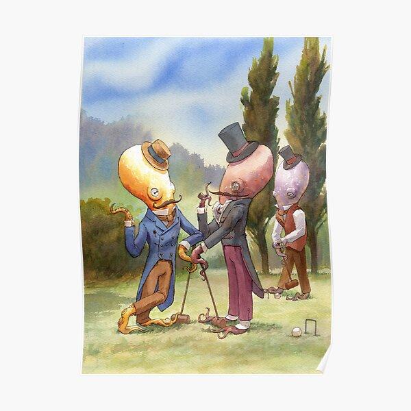 Croquet Debate Poster