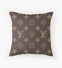 Brown Santyk Throw Pillow