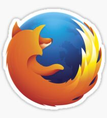 Firefox Logo Sticker