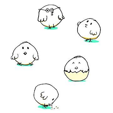 Cute chicks 2 by habi8