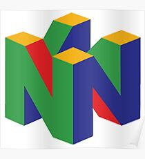 Póster Logo N64