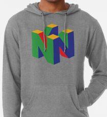 Sudadera con capucha ligera Logo N64
