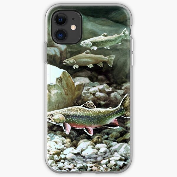 Three Trout  iPhone Soft Case