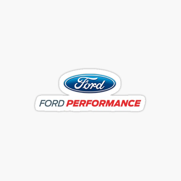 Ford Leistung Sticker