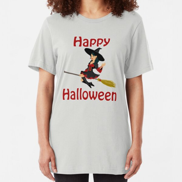 Happy Halloween Slim Fit T-Shirt
