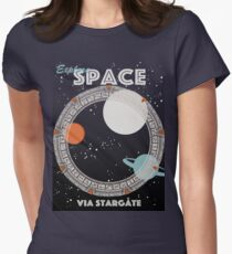 Explore Space Women's Fitted T-Shirt