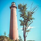 Little Sable Point Lighthouse by Shellie Hill