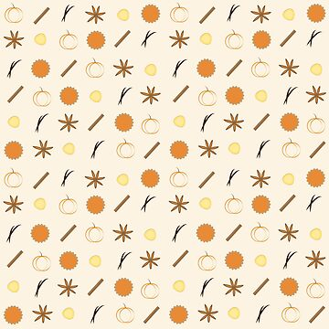 Pie and Spice Pattern by Senza