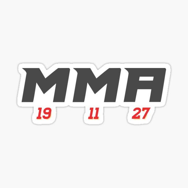 Calgary Flames MMA Line Sticker