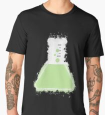 Flask beaker glowing Art Men's Premium T-Shirt