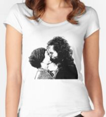 Jane Eyre Kiss  Women's Fitted Scoop T-Shirt