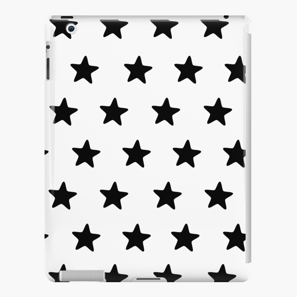 Be a star - black & white iPad Case & Skin