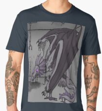 Shackled Shadow Dragon Men's Premium T-Shirt