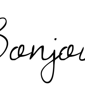 Bonjour! by StyleandCoffee