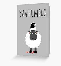 'Baa Humbug' Greeting Card