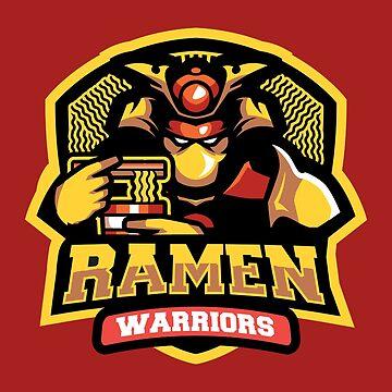 Team Ramen Warriors by artlahdesigns