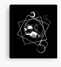 Sternenlicht - Black Canvas Print