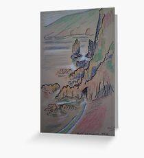 'Port Du Moulin, Isle of Sark' Greeting Card