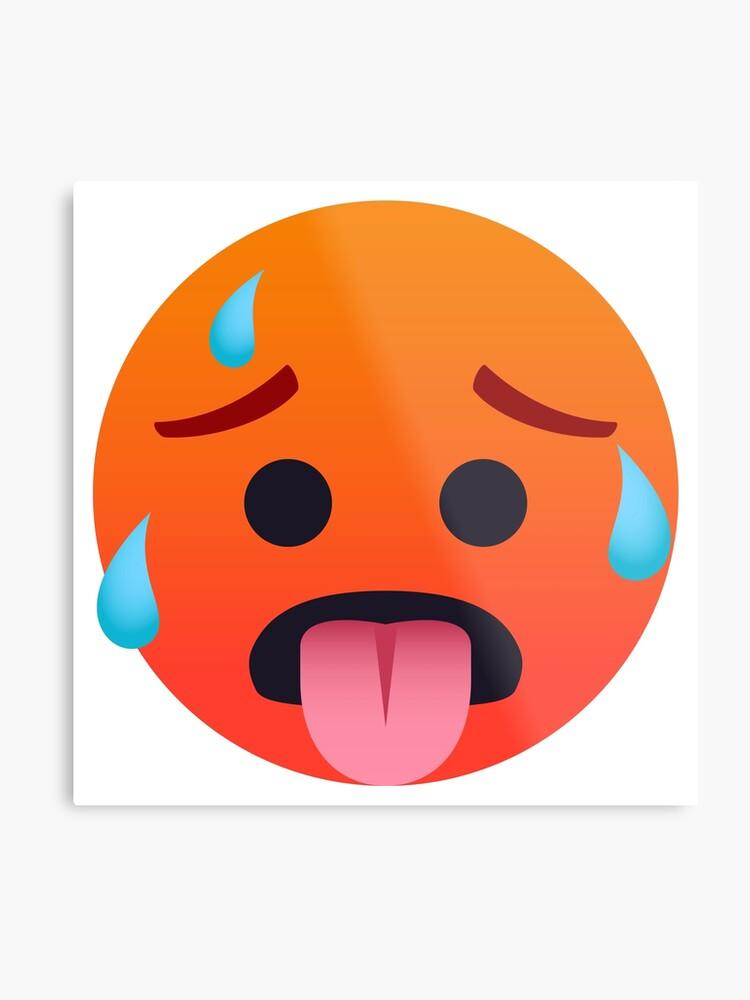Hot Face Emoji
