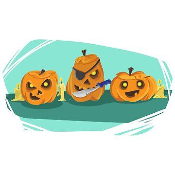 Halloween Pumpkin by talklfcpodcast